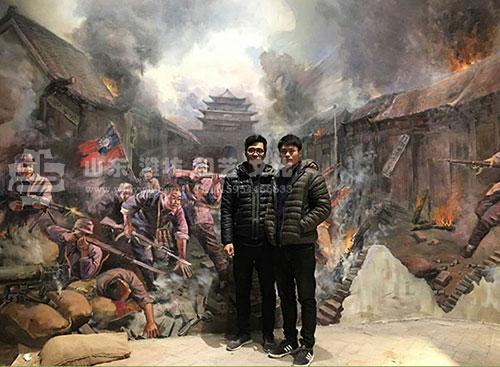 聊城东昌府区革命历史纪念馆油画壁画