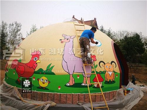 金泉寺手绘壁画