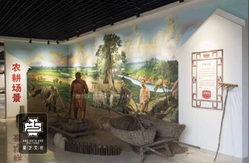 农村村史手绘壁画案例鉴赏