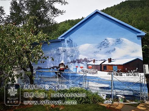 五井美丽乡村手绘壁画墙绘