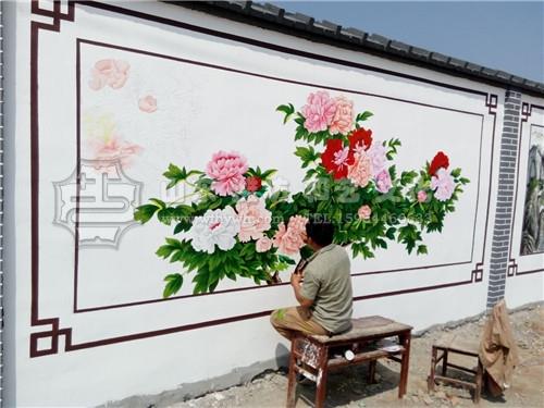 文化墙手绘壁画