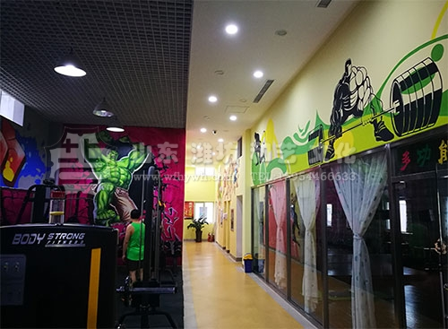 青州商业壁画
